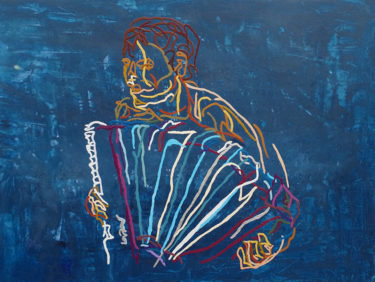 XX 32 - Accordion player