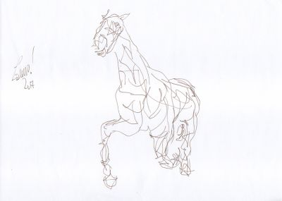 DR 78 - Galloping horse